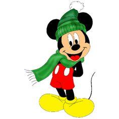 Mickey Mouse Christmas Clip Art.