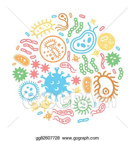 Biology clipart microorganism, Biology microorganism.