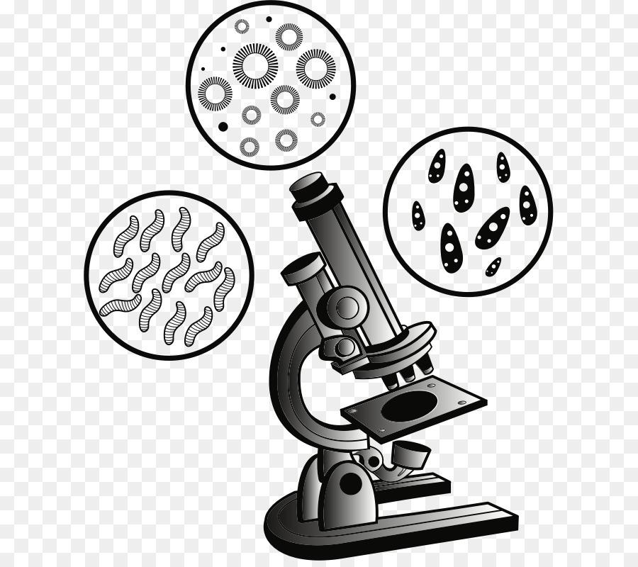 Microscope Cartoon clipart.