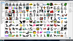 Microsoft Office Works Clipart.