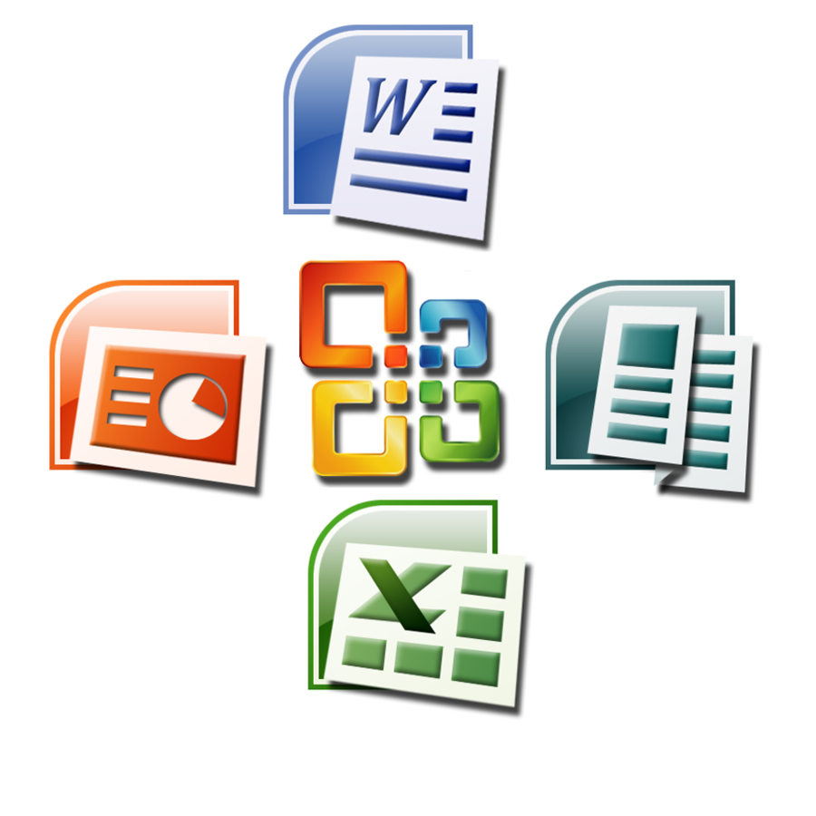 Microsoft Office Icon clipart.
