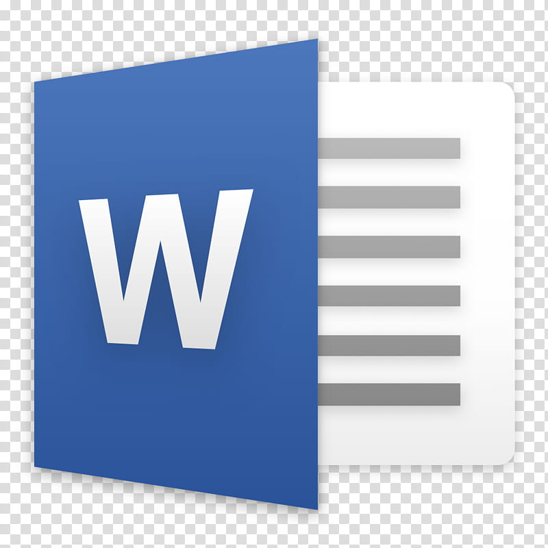 Microsoft Office for macOS, Microsoft Word transparent background.