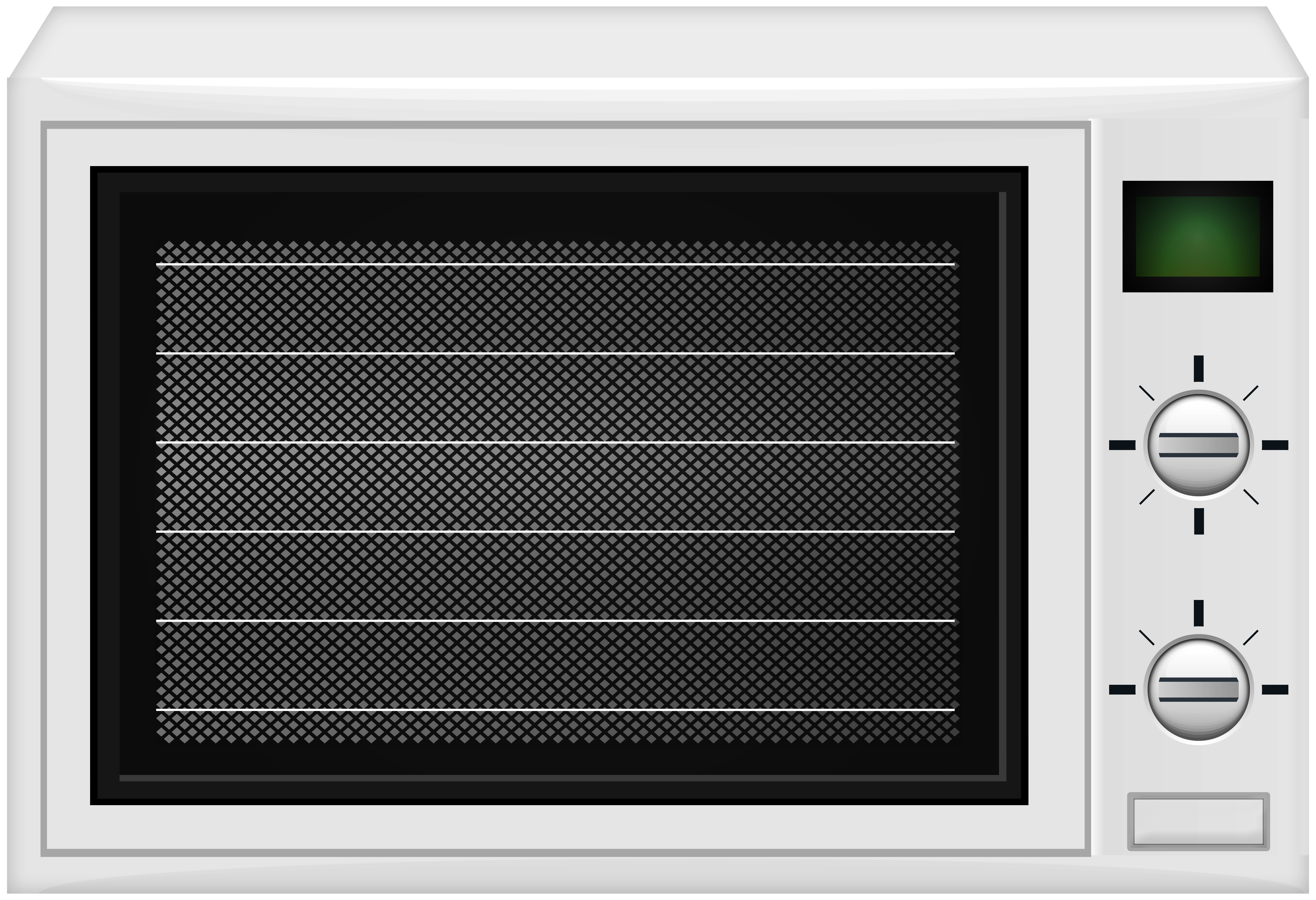 Manual Microwave PNG Clip Art.