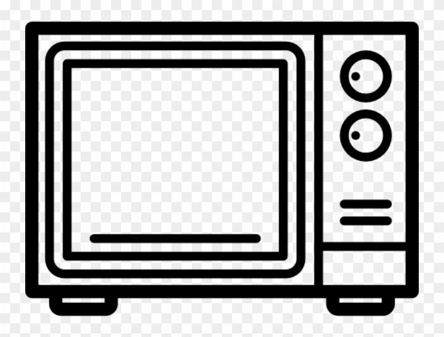 Microwave Oven Vector Icon Clipart (#1713533).