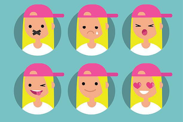 Girl Tongue Clip Art, Vector Images & Illustrations.