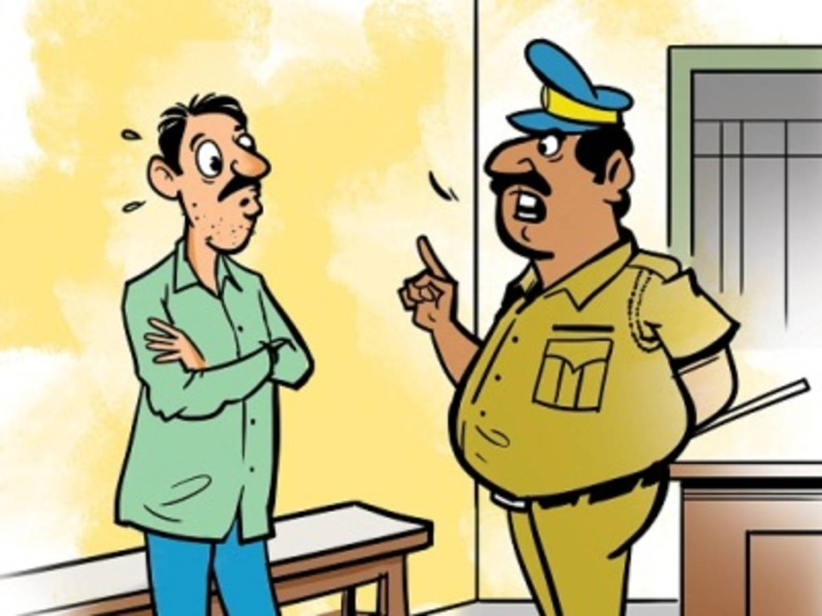 Police naik demoted to constable for drunk row during VP\'s.