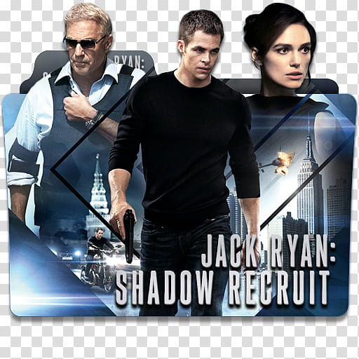 Movie Collection Folder Icon Part , Jack Ryan Shadow Recruit.
