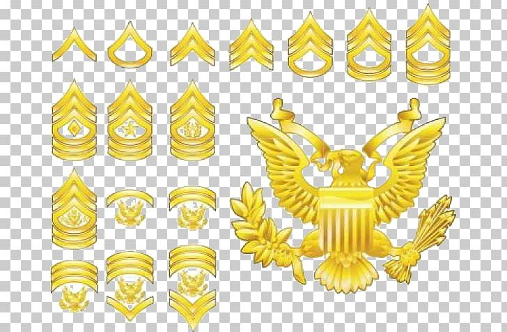 Military Rank United States Army Enlisted Rank Insignia PNG.