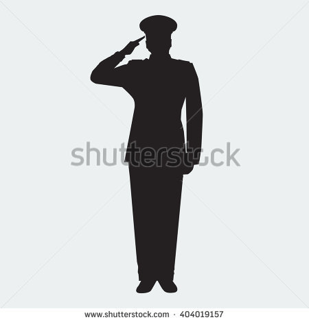 Salute Stock Images, Royalty.