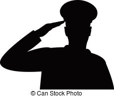 Military salute Clipart Vector Graphics. 560 Military salute EPS.