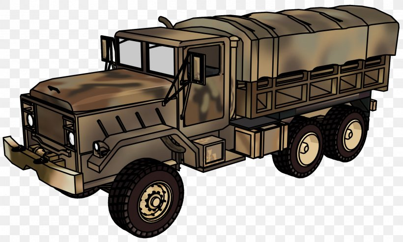 Car Truck Military Vehicle Clip Art, PNG, 2432x1468px, Car.