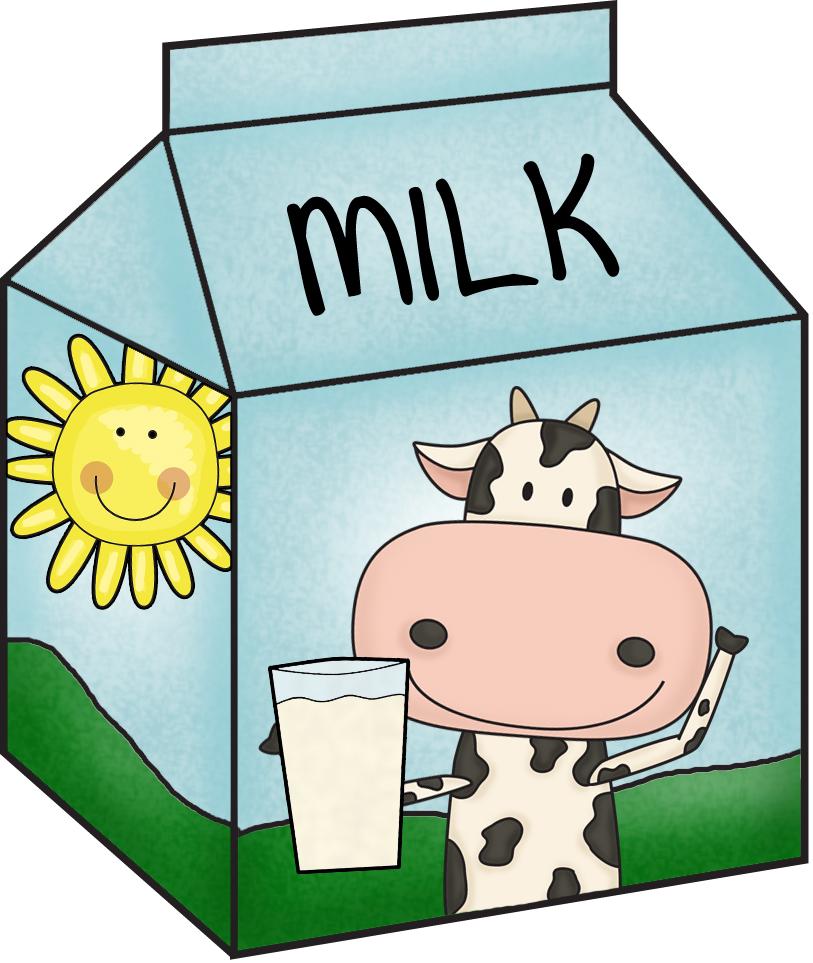 Clipart of Milk Carton free image.