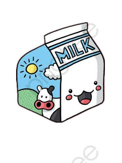 Download Free png Cute Milk Bottle, Cute Clipart, Milk.