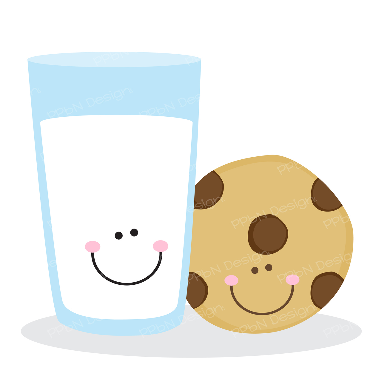 Milk And Cookie Clipart.