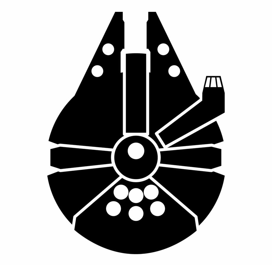 Millennium Falcon Icon Star Wars Millennium Falcon Symbol.