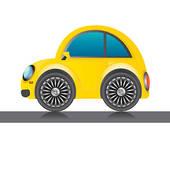 Mini Car Clip Art.