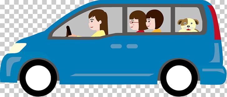 Minivan Car Volkswagen Type 2 , Mini Van s, blue minivan.