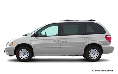 Road Trip Mini Van Clipart.