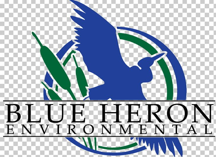 Great Blue Heron Logo Blue Heron Environmental The BIG Event.