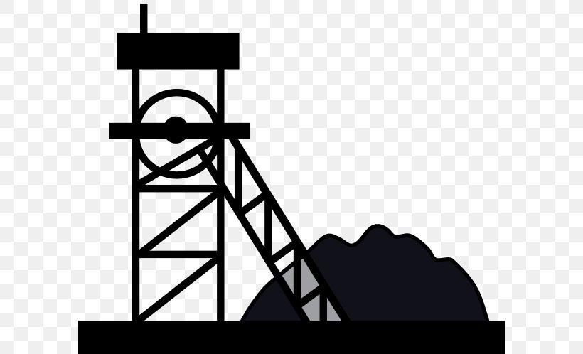 Coal Mining Clip Art, PNG, 600x498px, Coal Mining, Black And.