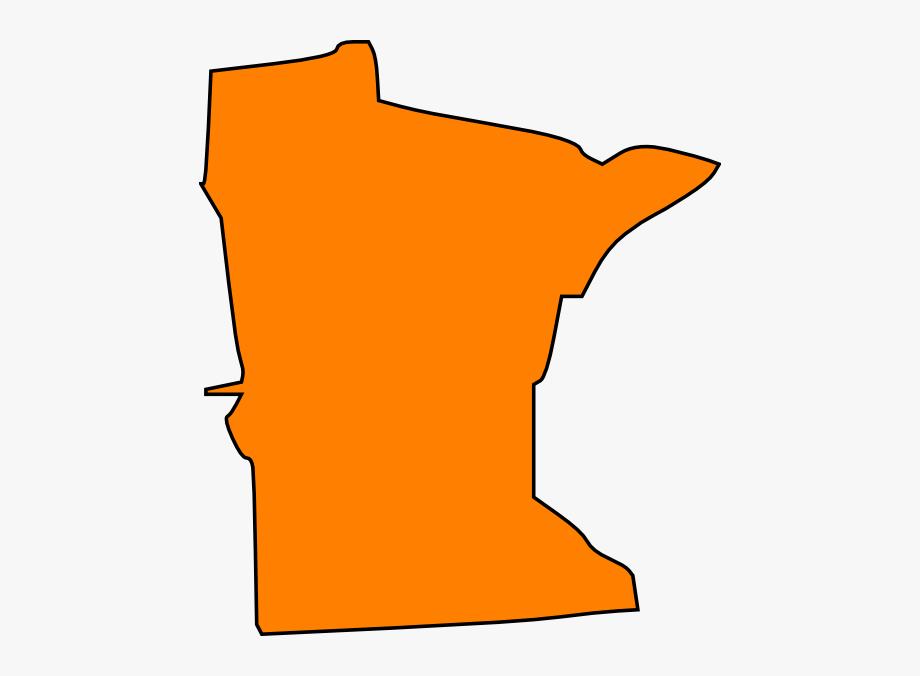 Orange Minnesota Clip Art.