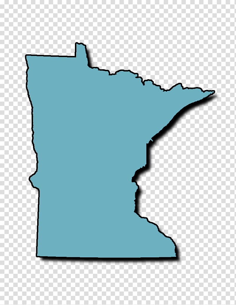 Minnesota Map , lines transparent background PNG clipart.