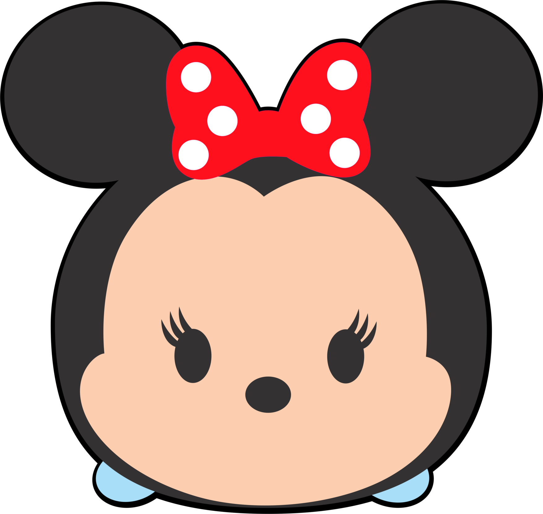Disney Tsum Tsum Clipart Minnie Mouse.