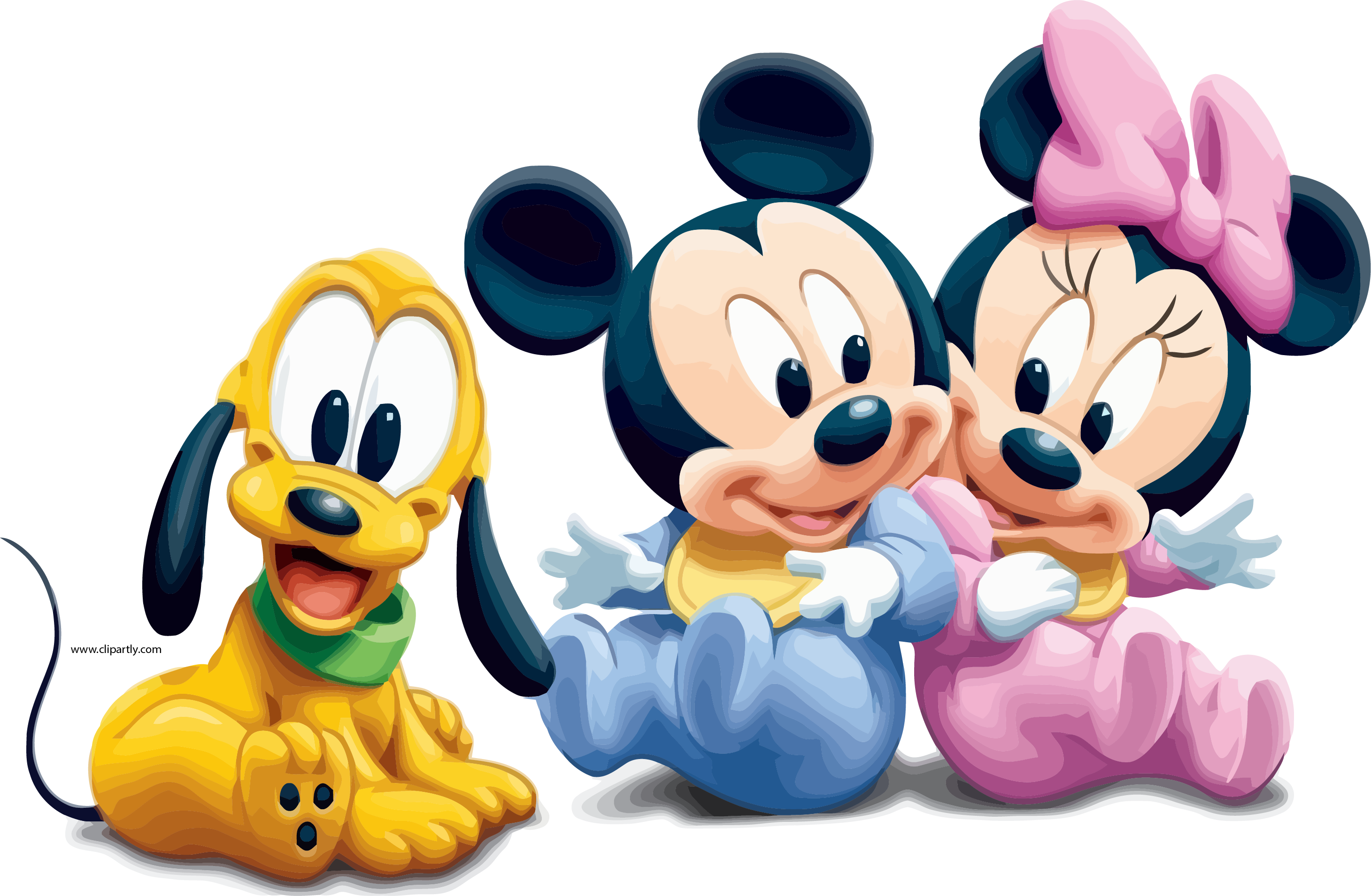 Baby Mickey Mouse Pictures Minnie And Dog Wallpapers Dog Clipart Png.
