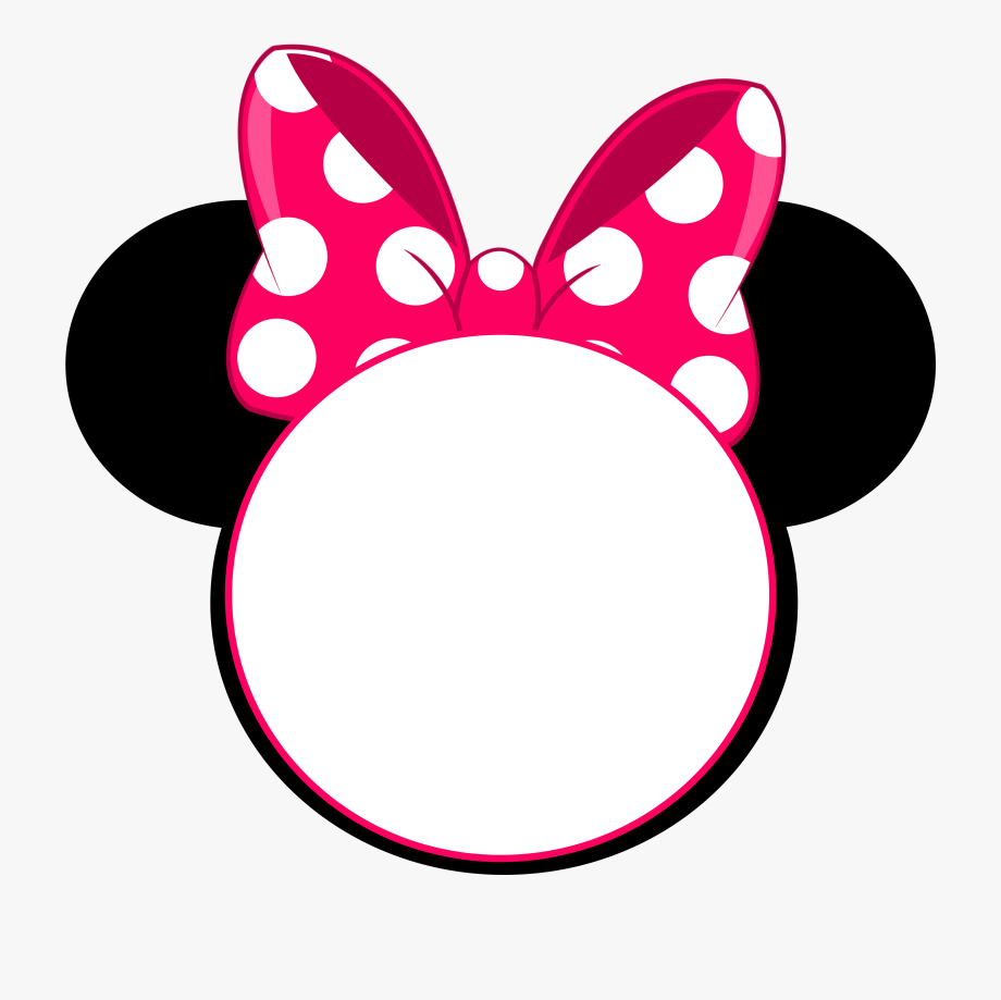 Minnie Mouse Crown Ears Clipart.