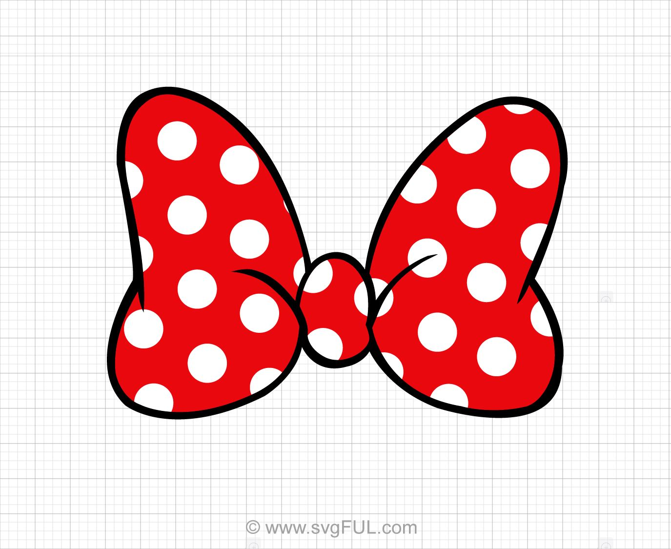 Download High Quality minnie mouse clipart bow Transparent.
