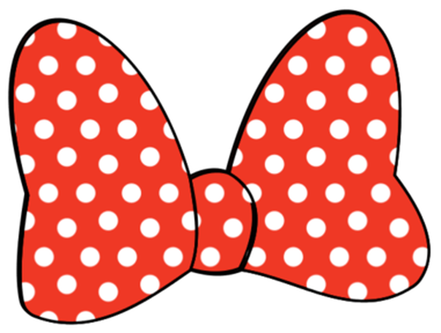 Minnie Mouse Bow Clipart.