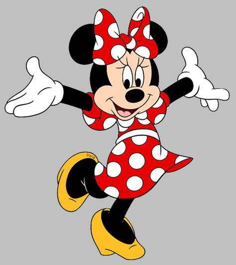 8179 Minnie free clipart.