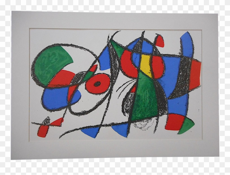 Joan Miro Original Painting Clipart (#1340645).