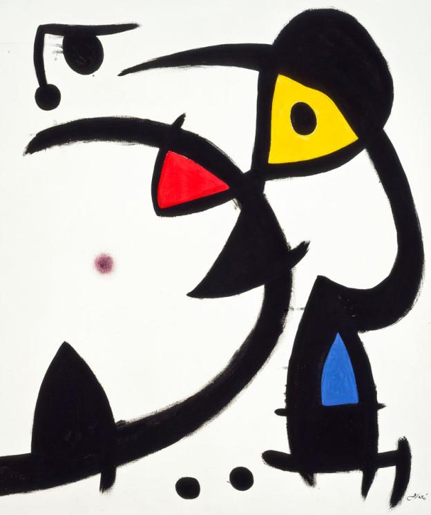 Joan Miró exhibition at MUDEC in Milan.