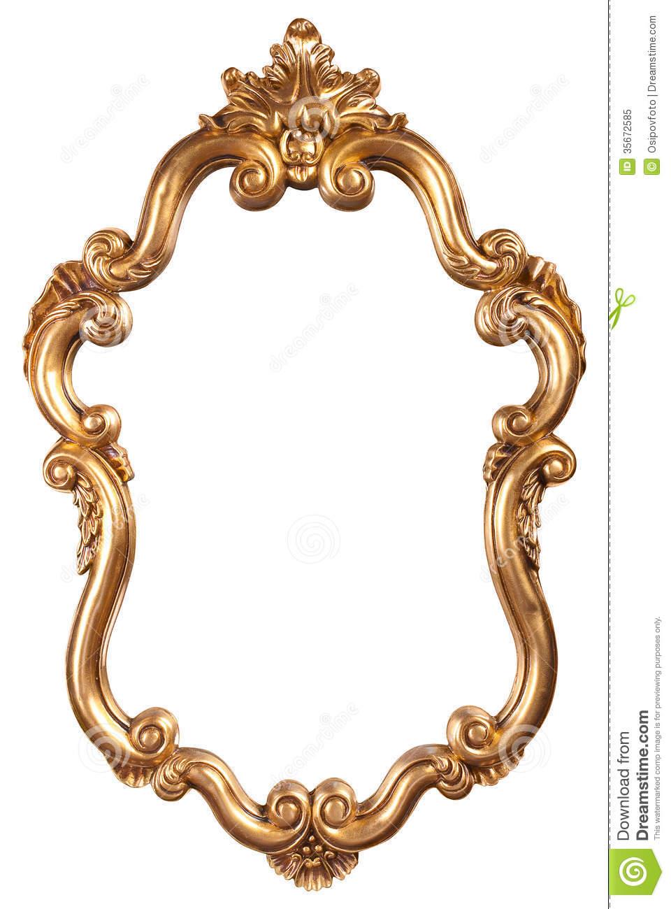 Mirror Frames Clip Art.