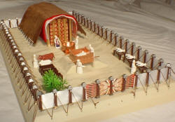 3D Virtual Bible Tabernacle and Model Kit Main Page.