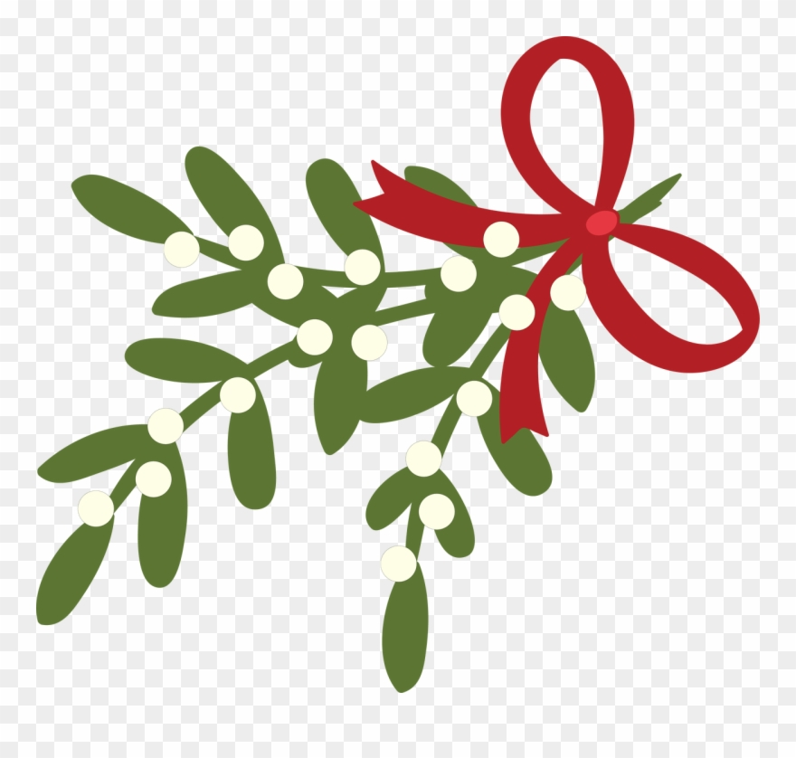 Mistletoe Svg Cut File.