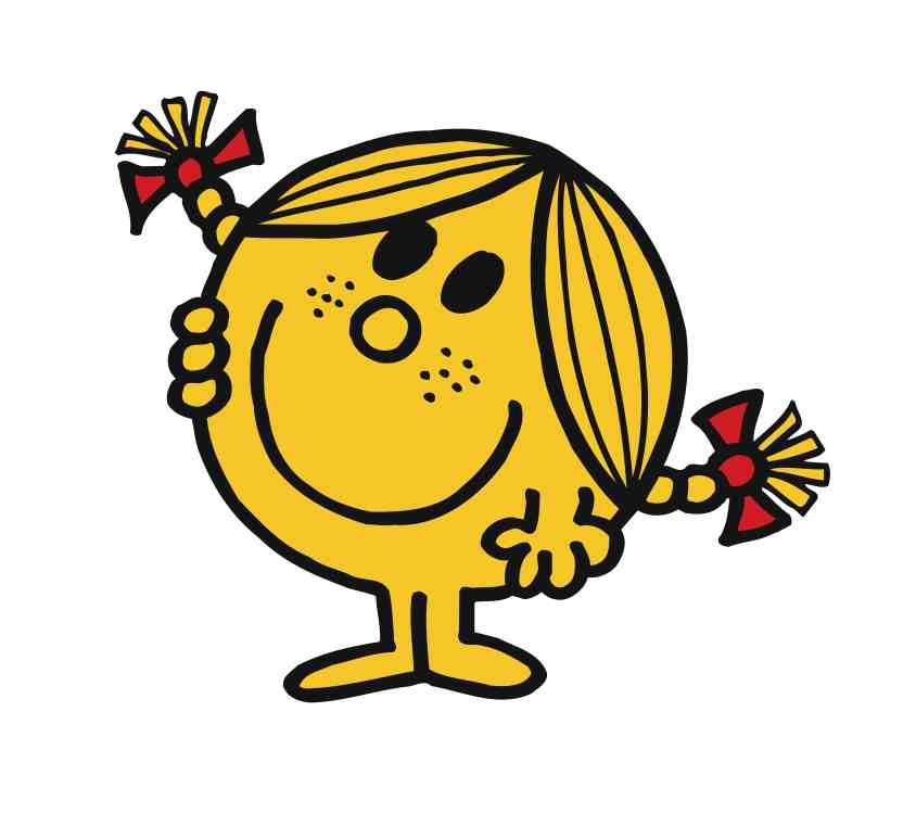 Little Miss Sunshine Clipart.
