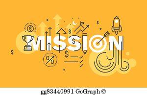 Mission Statement Clip Art.