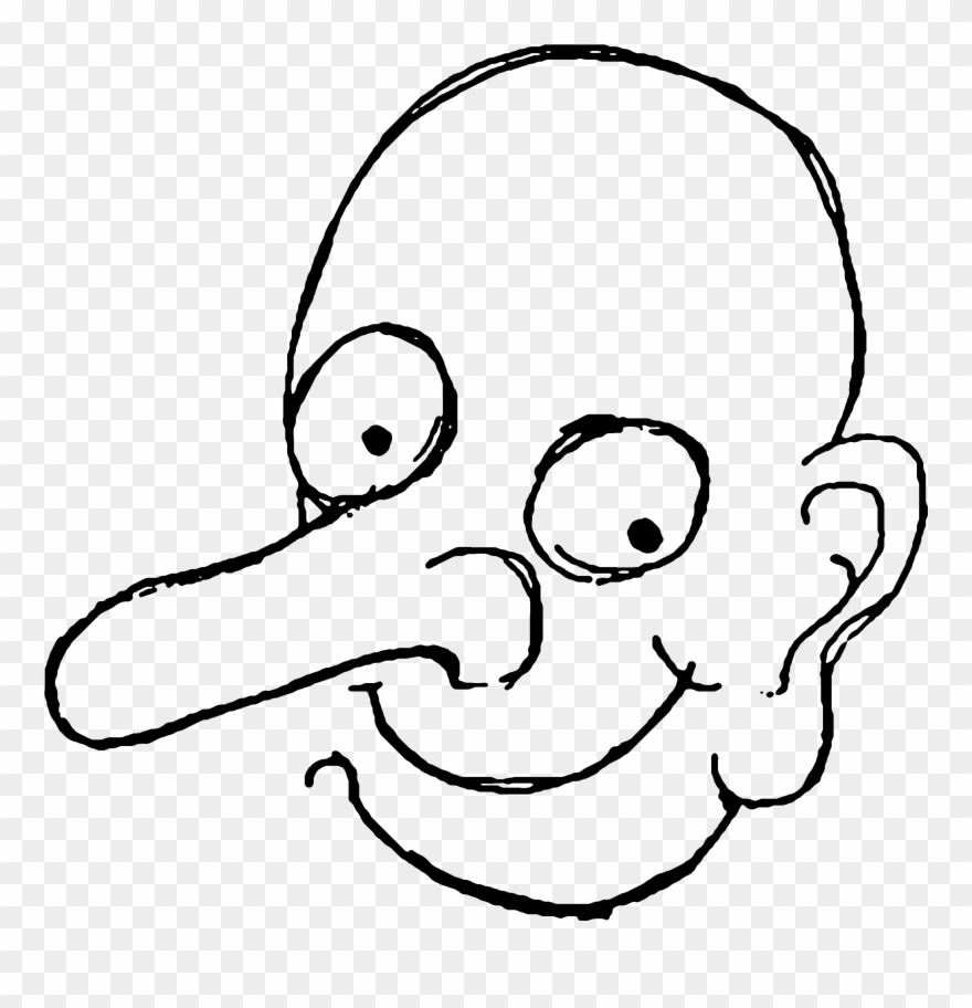 Bean Clipart Face.