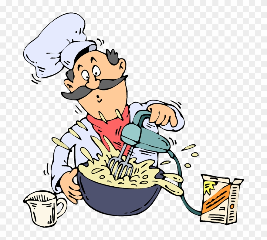 Mix Chef Clipart (#1745483).