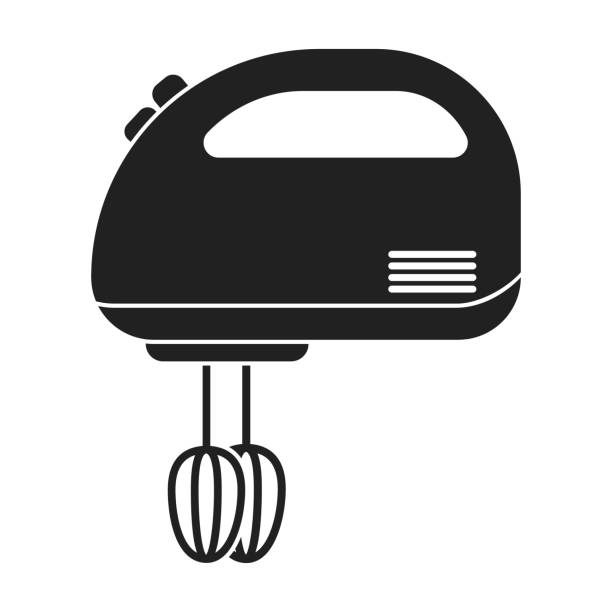 Best Hand Mixer Illustrations, Royalty.