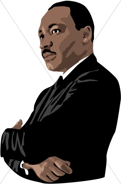 Martin Luther King Jr. Graphic.