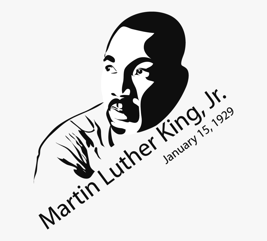 Clip Art Martin Luther King Jr.