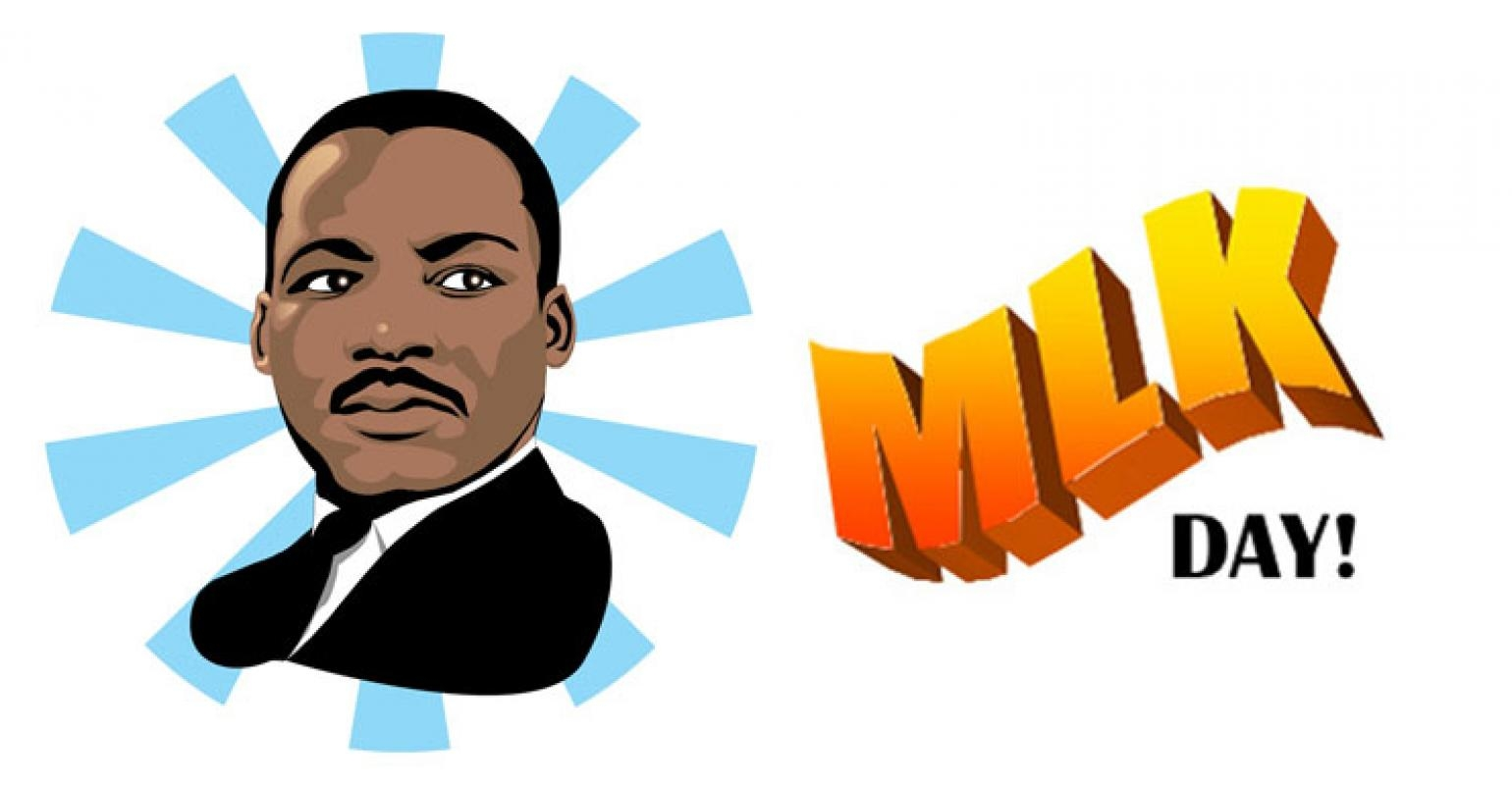 Mlk clipart Inspirational Martin Luther King Jr Day Camp A.