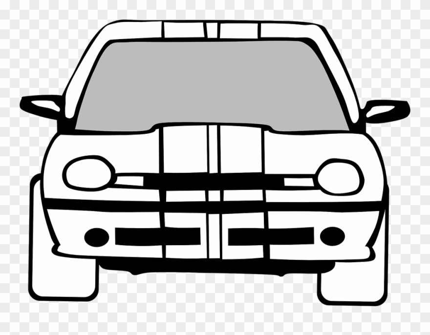 Black And White Car Clipart 24, Buy Clip Art.