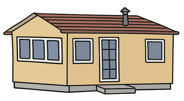 Manufactured home clipart 4 » Clipart Station.