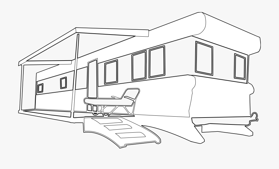 Mobile Home Clipart Free.