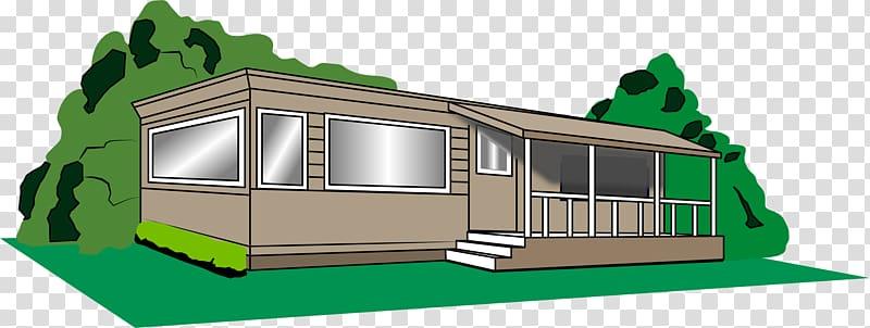 Mobile home Campervan Park , a cowboy transparent background.