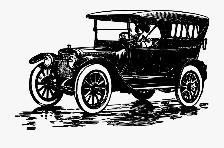 Car Ford Model T Clip Art.